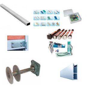 تجهیزات یا خدمات اجباری درب کرکره برقی